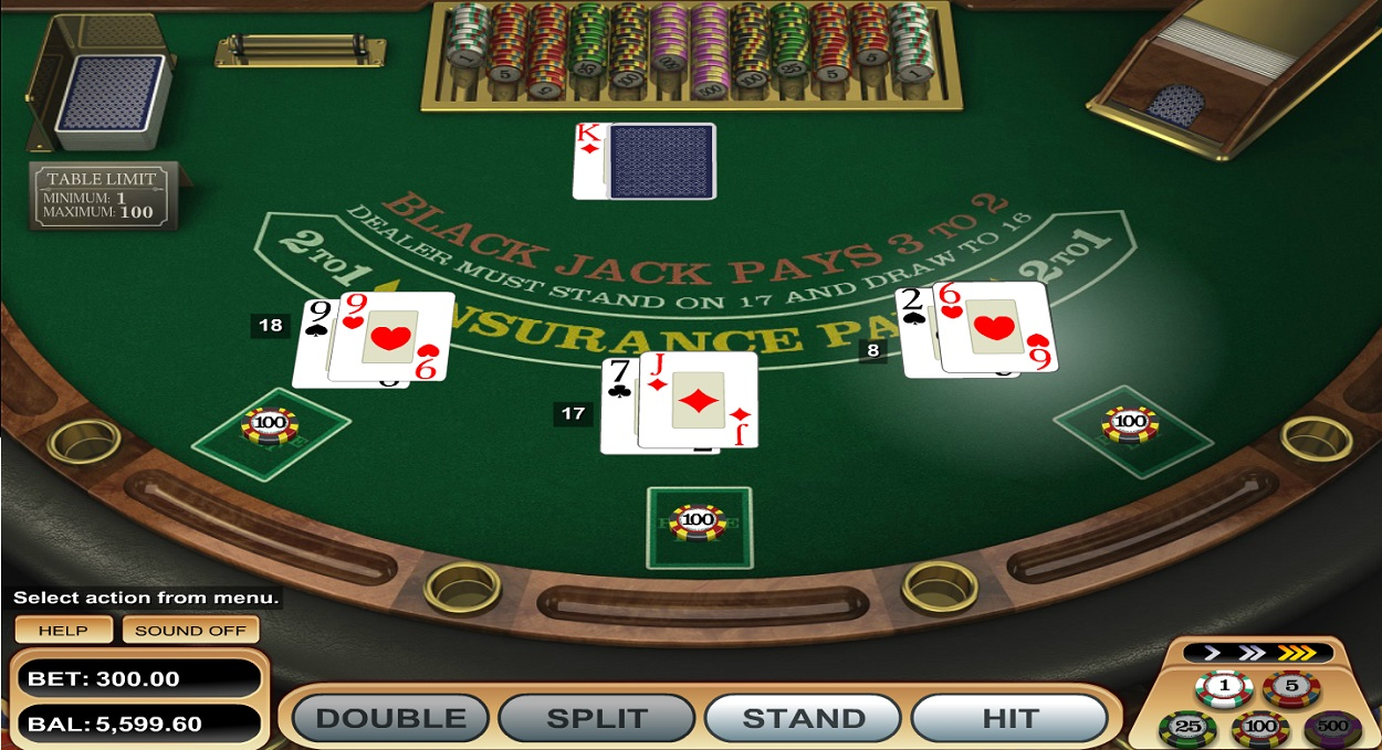 Play Online Blackjack - Mybookie Casino