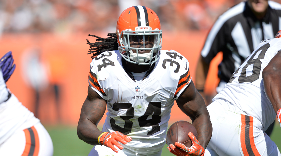 Browns RB Crowell