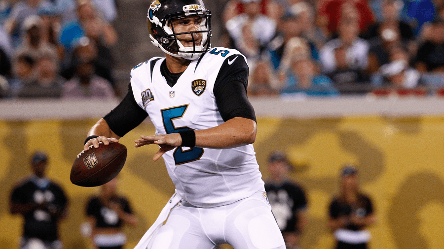 Blake Bortles has been an offensive machine and a highlight in the Jaguars year.