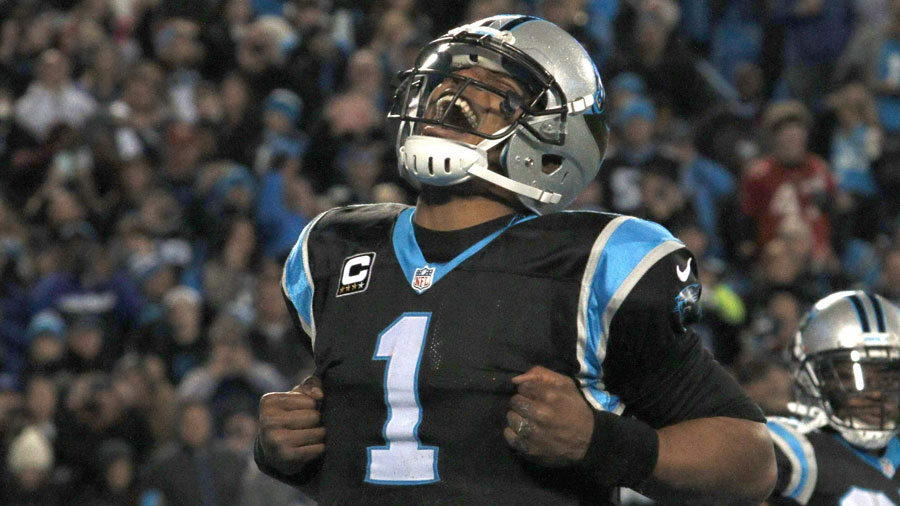 Newton has thrown for 3,837 yards and 35 scores, second in the NFL.