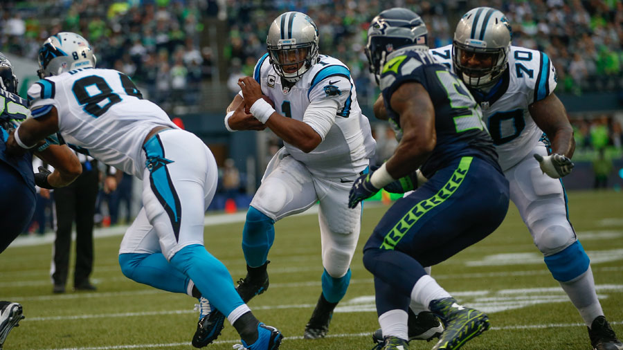 There was a time when the Seahawks were firmly entrenched in the Panthers' minds.