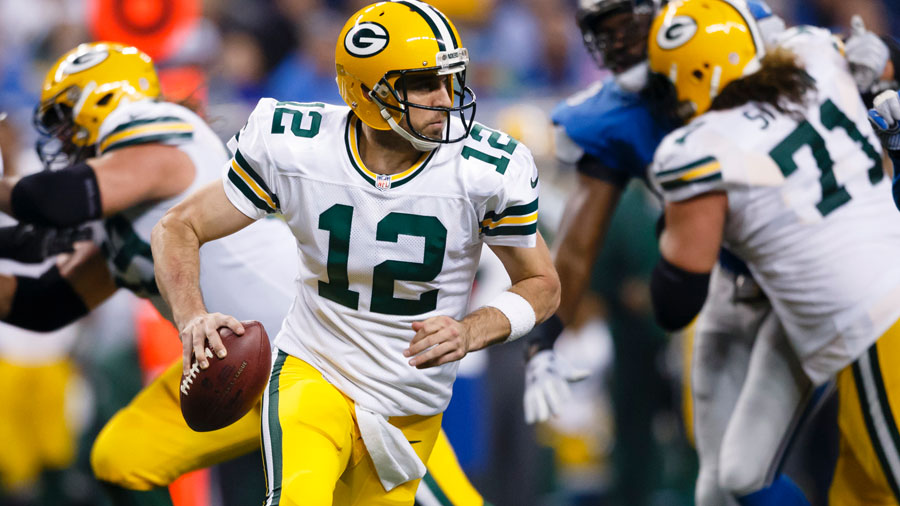 In Week 17, the Packers were down 20-3 at the start of the 4th period, but Rodgers rallied the team in the 4th quarter.