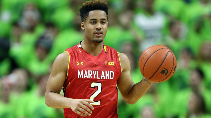 Melo Trimble, of the Maryland Terrapins.