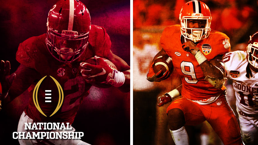 Clemson has both a tailback and a quarterback who can take off with the ball.