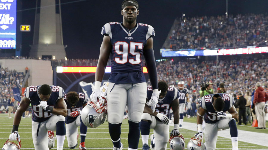 The Patriots' defense isn't bad, but does need some buffing up.