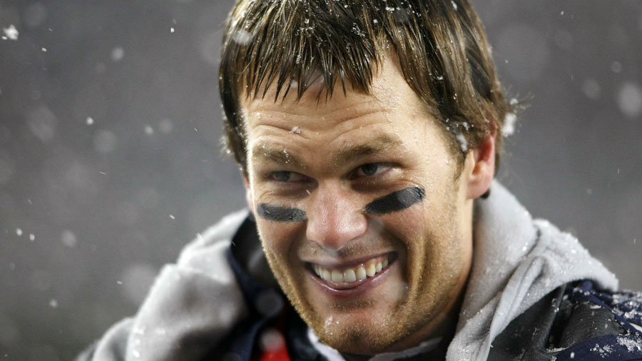 Tom Brady, QB of the New England Patriots.